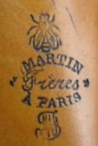 Martin Freres A Paris 19th Century Logo