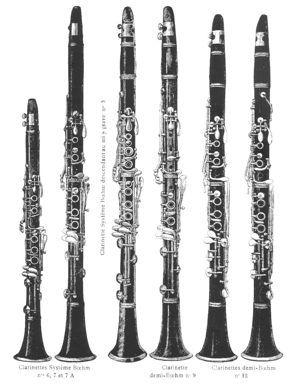 Martin Freres Clarinet Catalog 1905