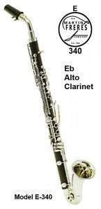 Eb E340 Alto Clarinet
