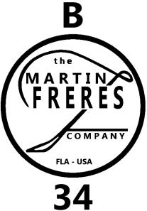 Martin Freres Company Bb Clarinet Model B34 Maker's Mark